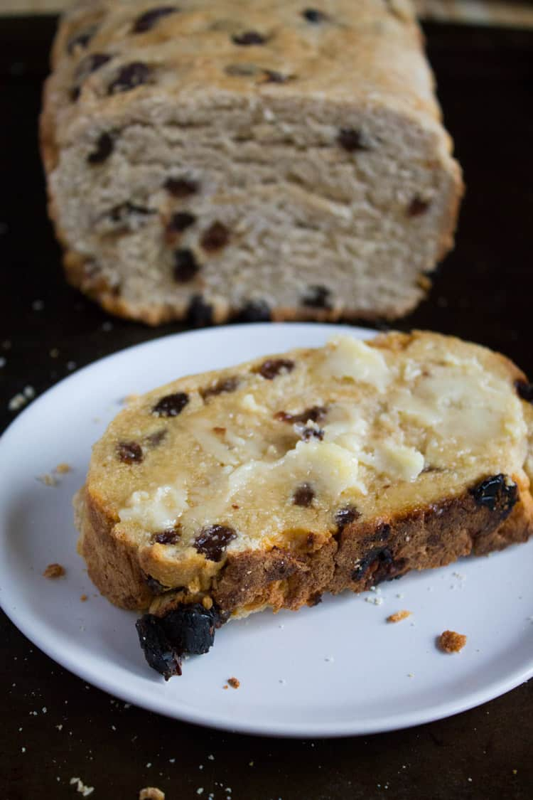 Gram's Irish Raisin Bread-5
