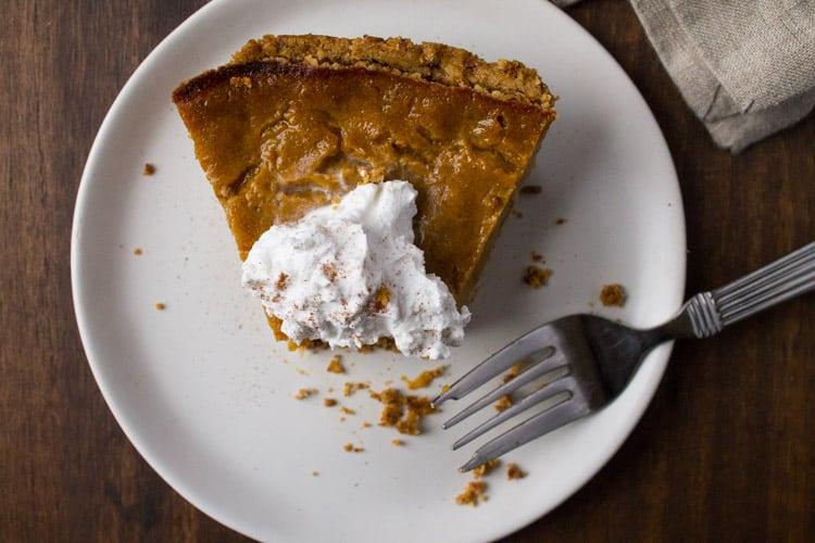 Vegan Gluten-Free Pumpkin Pie-4