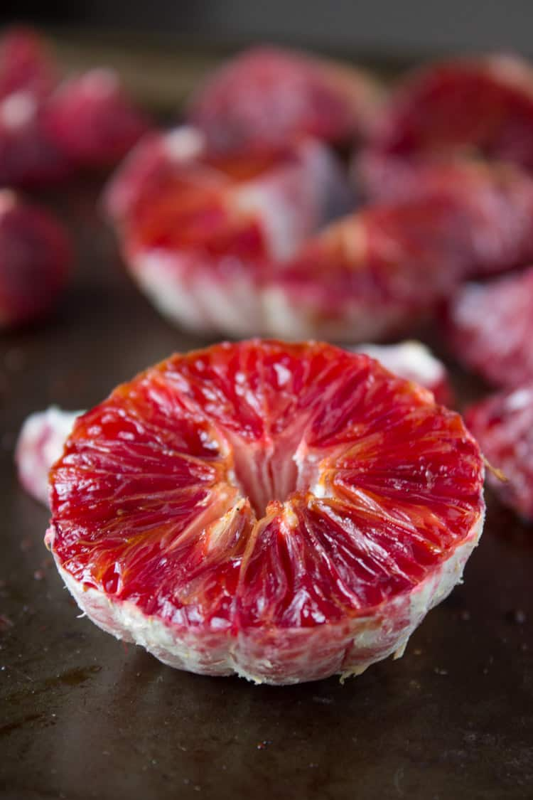 Roasted Blood Orange | @TheFoodieDietitian