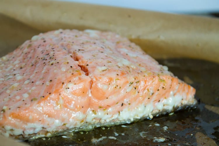 The Best Way to Cook Salmon - Slow Cooked Salmon | Kara Lydon