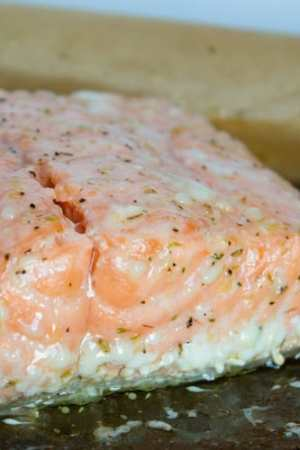 The Best Way to Cook Salmon - Slow Cooked Salmon | @TheFoodieDietitian