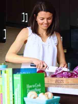 Kayli Dice cooking shot