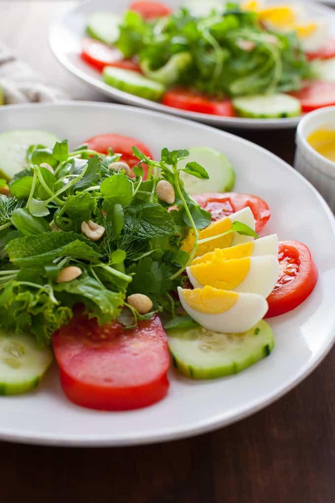 Luang Prabang Laos Salad