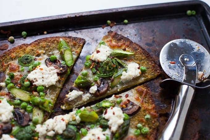 Farmer's Market Vegetable Pizza