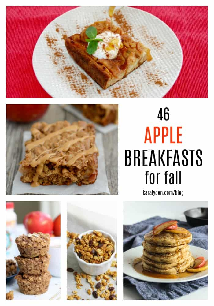 With an abundance of apples this time of year, what better time to share the best apple breakfast recipes for fall! Start your morning off with some seasonal deliciousness.