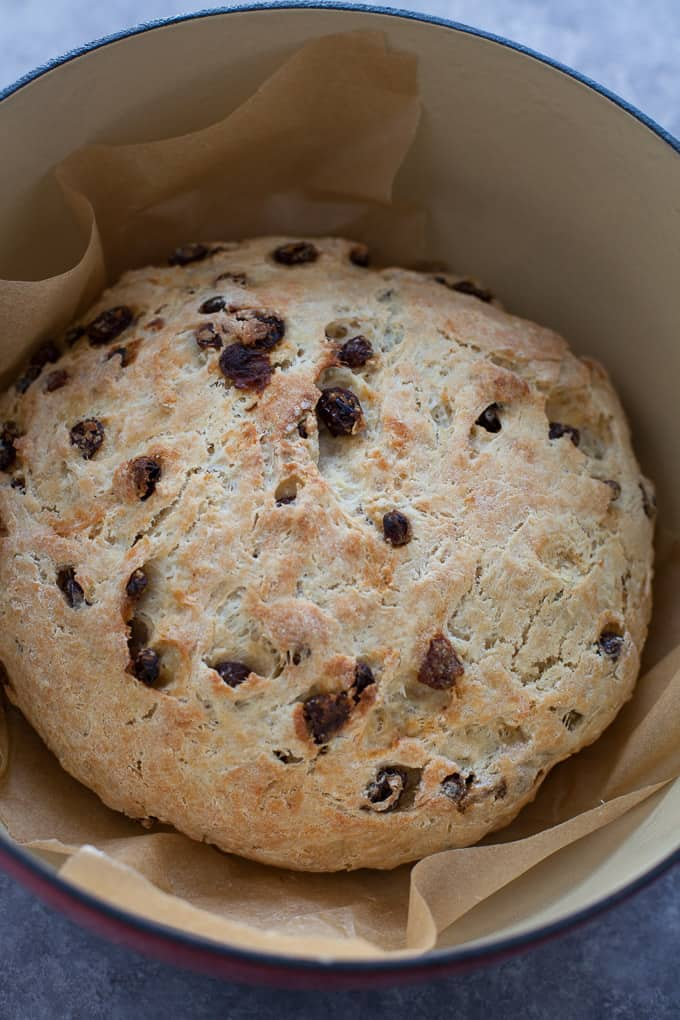 Instant Pot Raisin Bread (No Knead!)