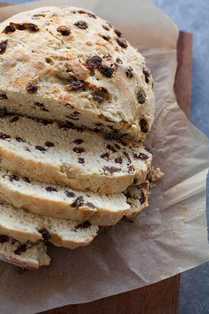 No Knead Instant Pot Raisin Bread Recipe