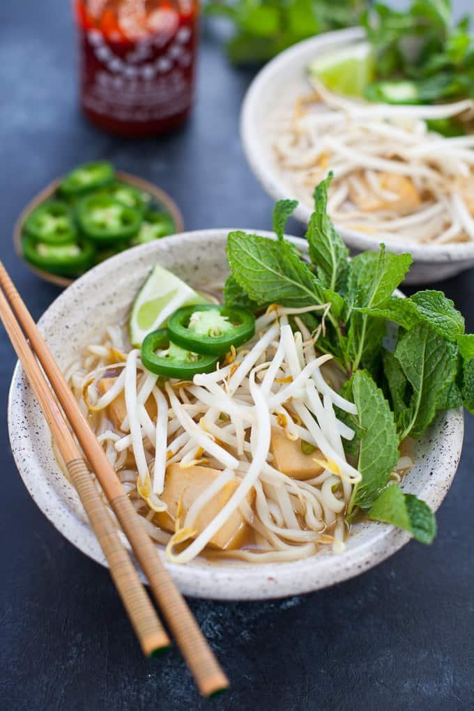 Instant Pot Vegetarian Pho Recipe