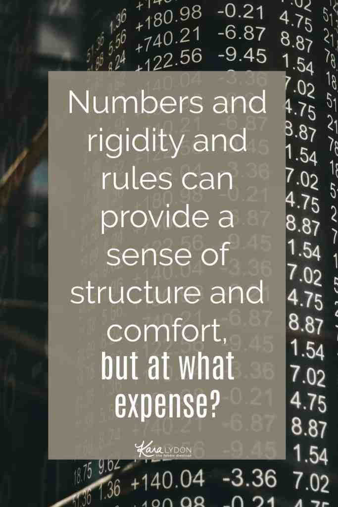 Numbers and rigidity and rules can provide a sense of structure and comfort, but at what expense? What are you losing out on as a result? How is your ED or diet culture acting as a life thief (love this term from Christy Harrison of Food Psych)? Are you willing to let go of the numbers to take back a piece of your life? #intuitiveeating #nondiet