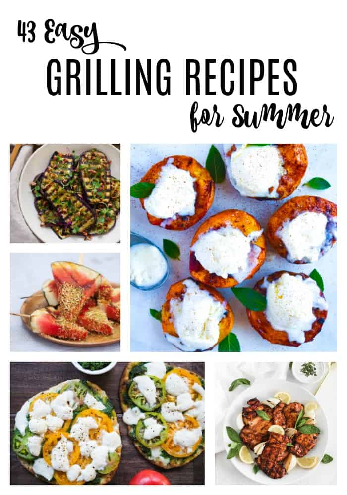 Nothing screams summer like firing up the grill, but hamburgers and hot dogs definitely get old after a while. Up your grilling game with these great recipes!