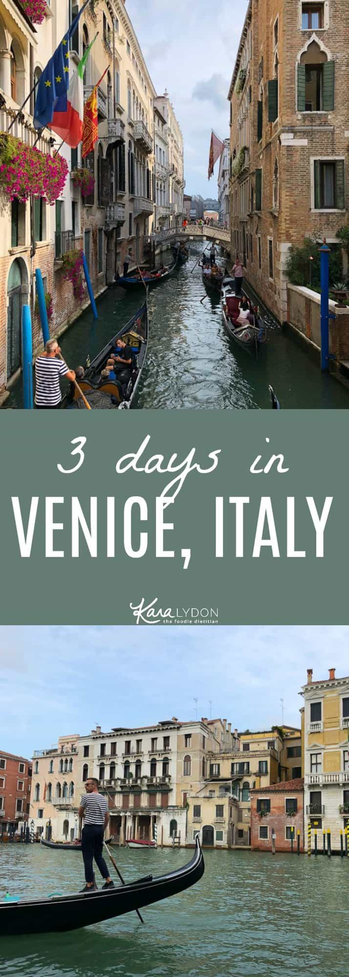 Recapping our 3 days in Venice, Italy. Where to stay, eat and visit! #travel #venice #italy