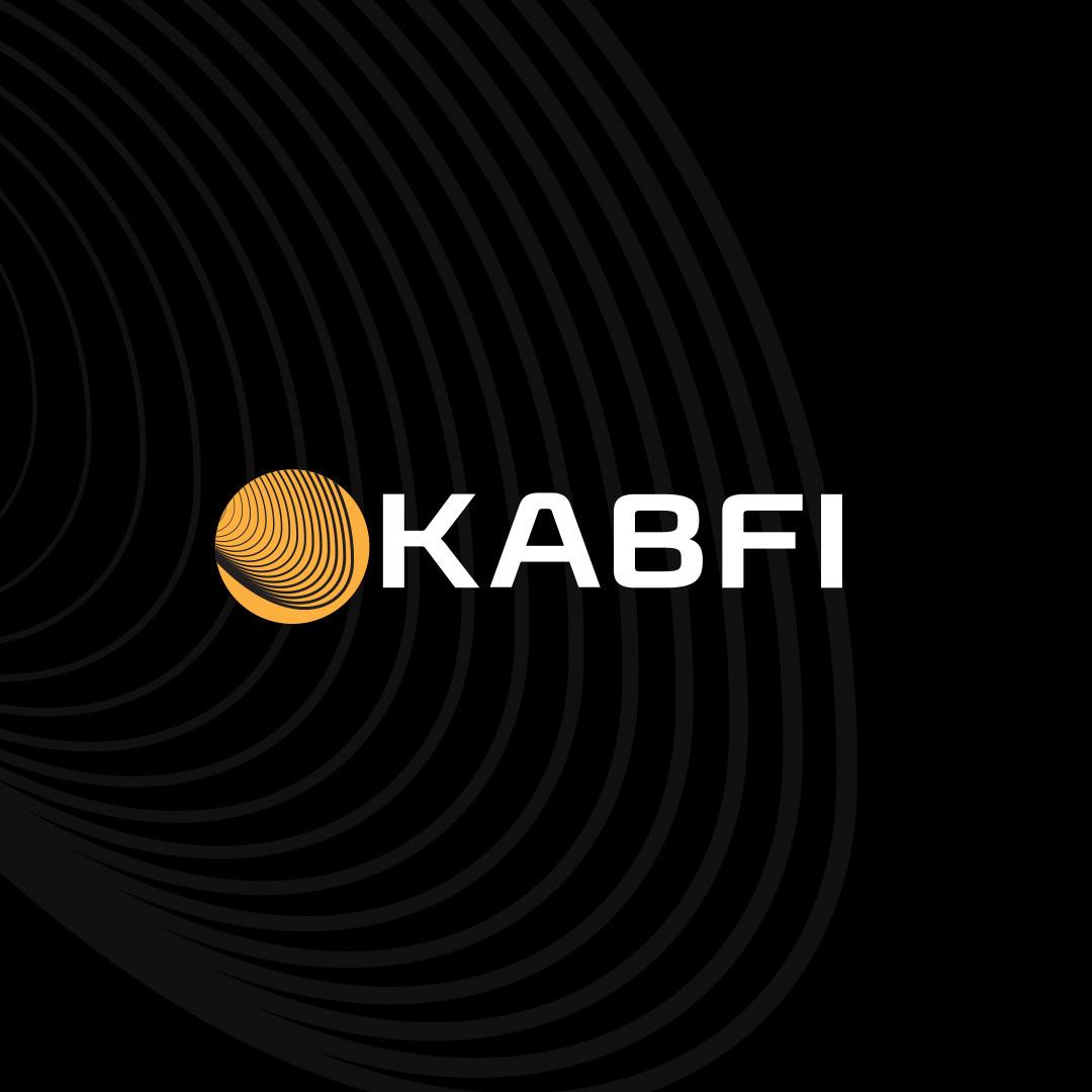 Kabfi logo Black BG