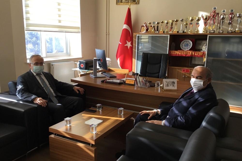 Rektör Ak, Kazım Karabekir Meslek Yüksekokulu'nda incelemelerde bulundu