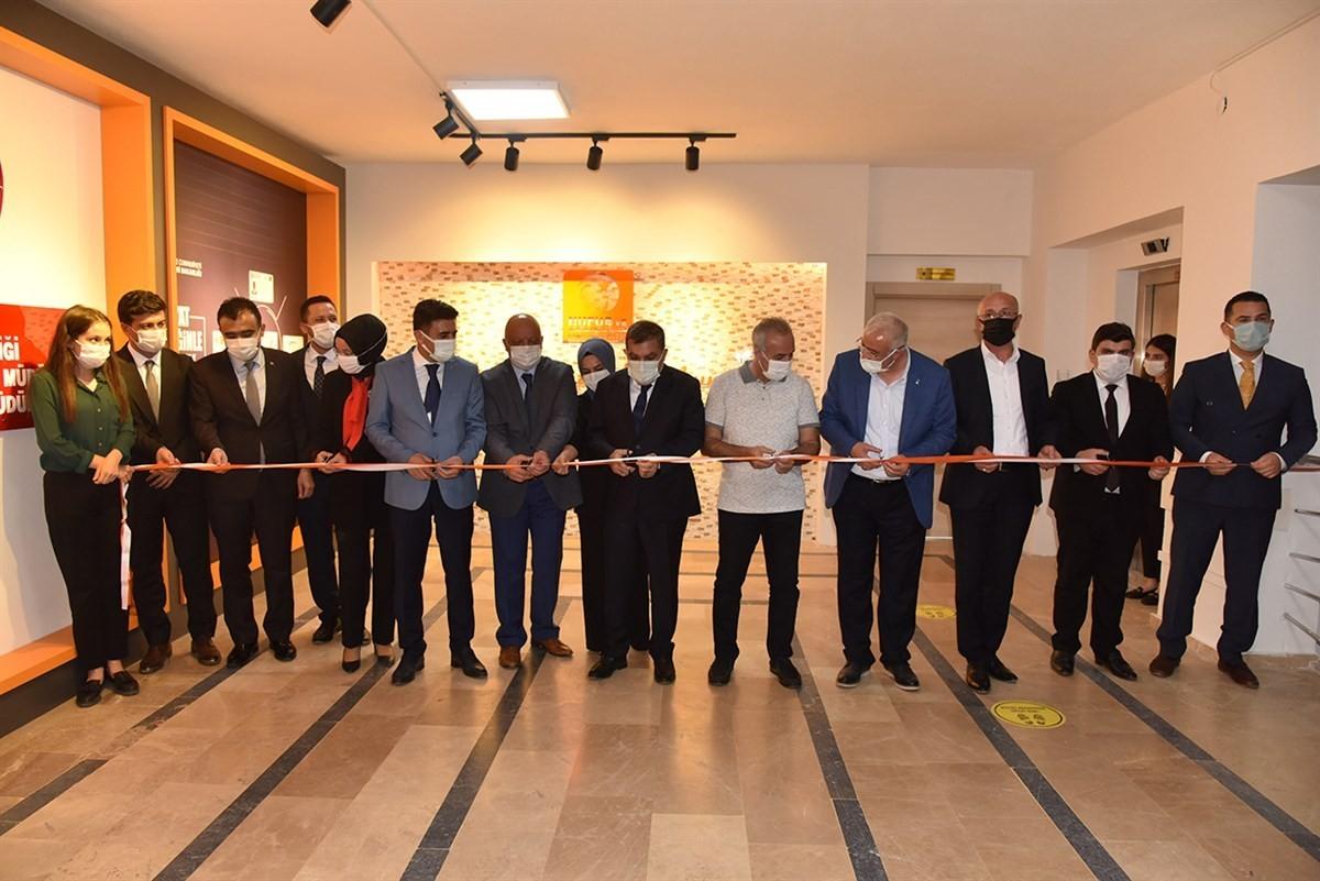 Karaman'da yeni konseptine kavuşan nüfus müdürlüklerinin açılışı yapıldı
