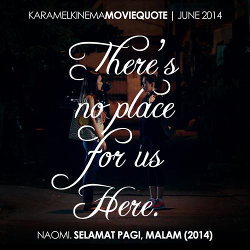 2014 June | Selamat Pagi, Malam (In Absence of The Sun)