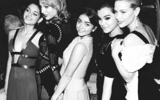 Odeya Rush, Taylor Swift, Sarah Hyland, Hailee Steinfeld, Jaime King