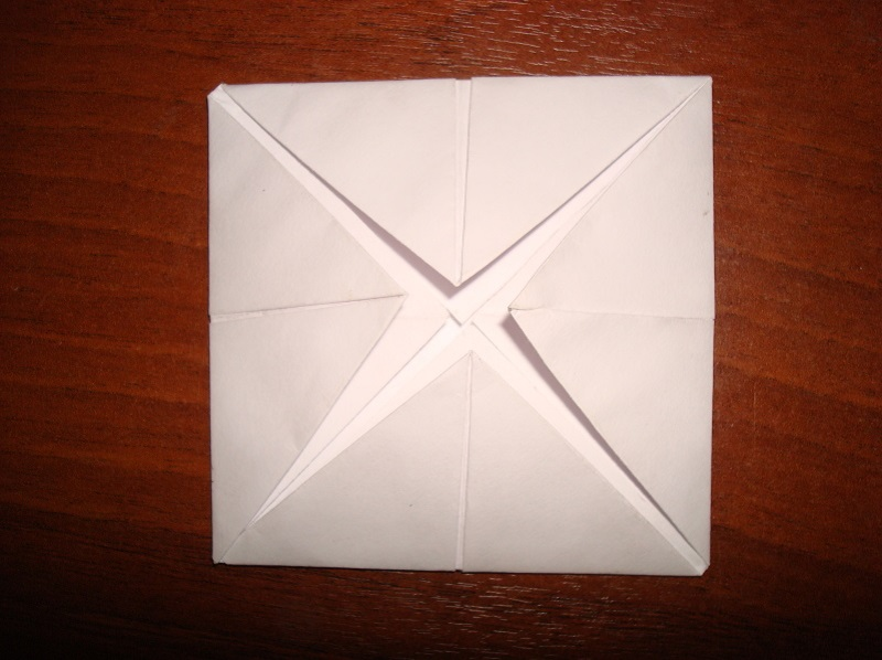 How to make a boat from paper? Folding instruction paper boat with your own hands Stage 59