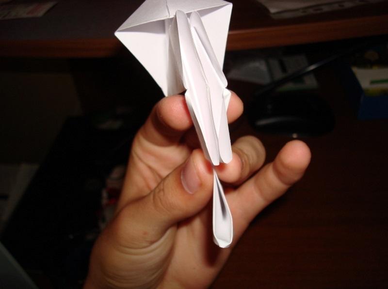 Hoe maak je een boot van papier? Instructies voor opvouwbare papierboot Doe het zelf stap 65