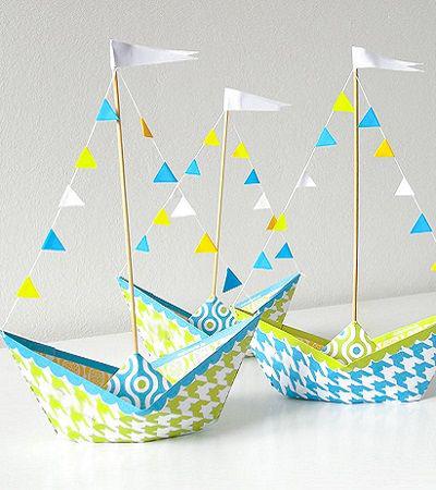 Hoe maak je een boot van papier? Instructie opvouwbare papierboot Doe het zelf fase 8