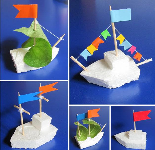 Hoe maak je een boot van papier? Instructies voor opvouwbare papierboot Doe het zelf stap 68