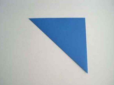 Hoe maak je een boot van papier? Instructie opvouwbare papieren boot Doe het zelf fase 29