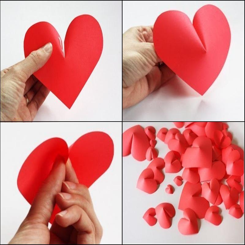 начинал фотографировать, картинки поделки из бумаги сердца прикоснуться мыслями