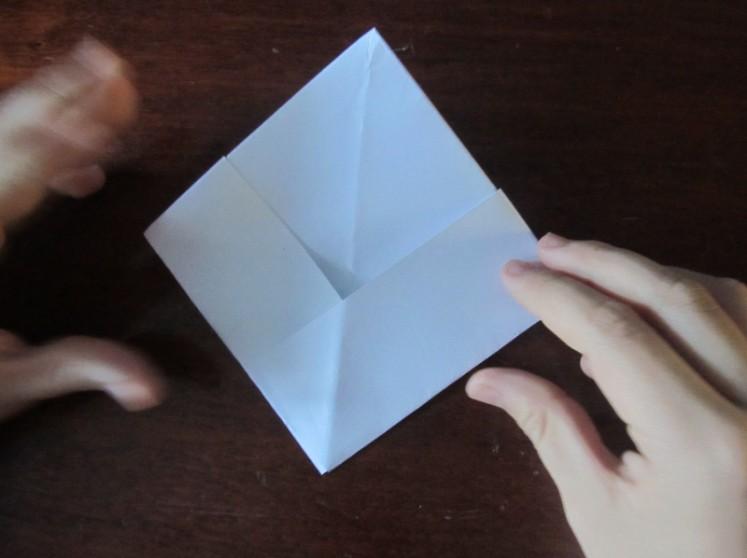Hoe maak je een boot van papier? Instructie opvouwbare papierboot Doe het zelf Stap 22