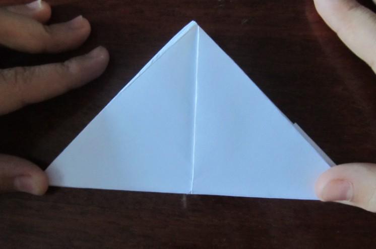 Hoe maak je een boot van papier? Instructie opvouwbare papieren boot Doe het zelf stap 23