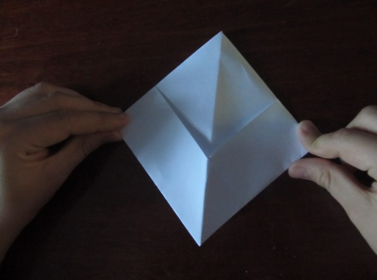 How to make a boat from paper? Instructions for folding paper boat do it yourself step 18