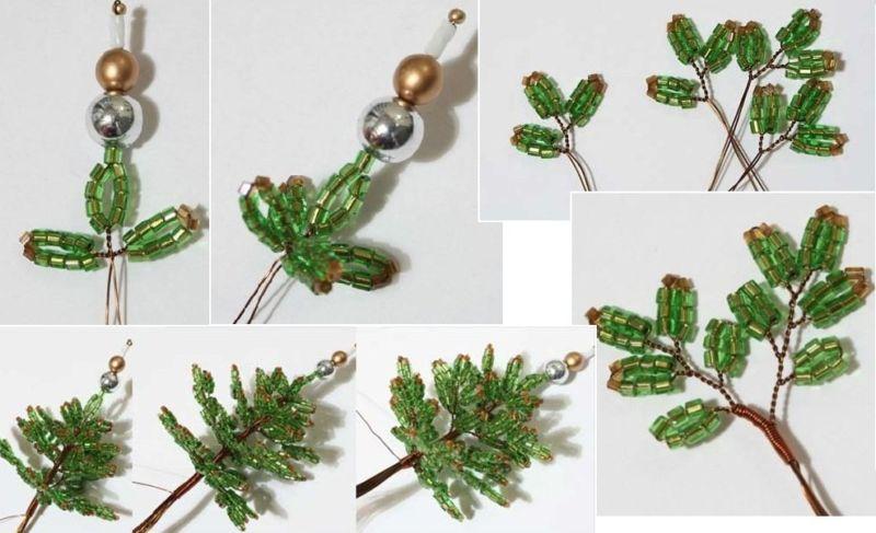 Árvore de Natal com as mãos para o ano novo e # 8212; Idéias fotográficas e mestres estágio 10