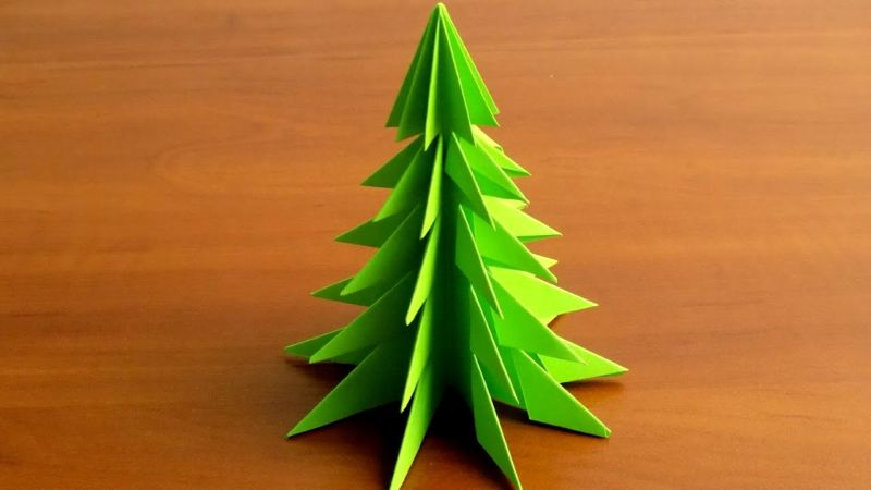 DIY Christmas tree for New Year & # 8212; photo ideas and master classes stage 86