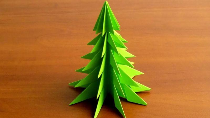 DIY juletræ til nytår & # 8212; fotoideer og mesterklasser fase 86