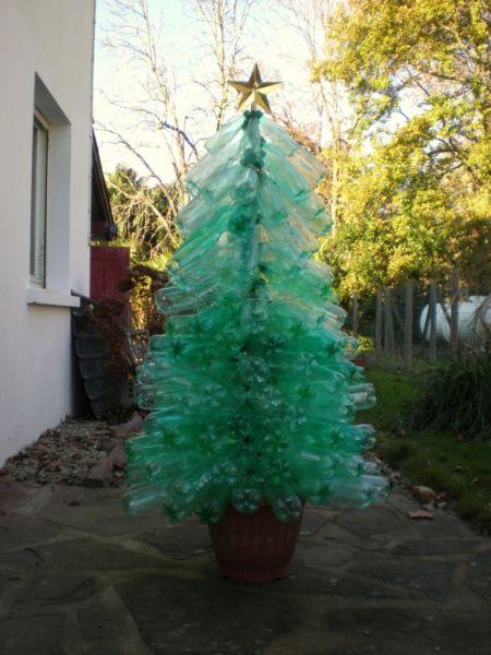 DIY juletræ til nytår & # 8212; fotoideer og mesterklasser trin 101