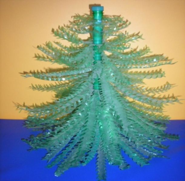 DIY Christmas tree for New Year & # 8212; photo ideas and master classes stage 100