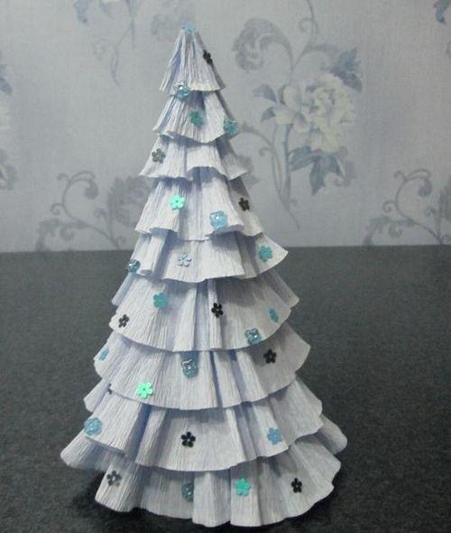 DIY juletræ til nytår & # 8212; fotoideer og mesterklasser trin 84