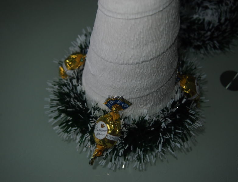 DIY Christmas tree for New Year & # 8212; photo ideas and master classes stage 68