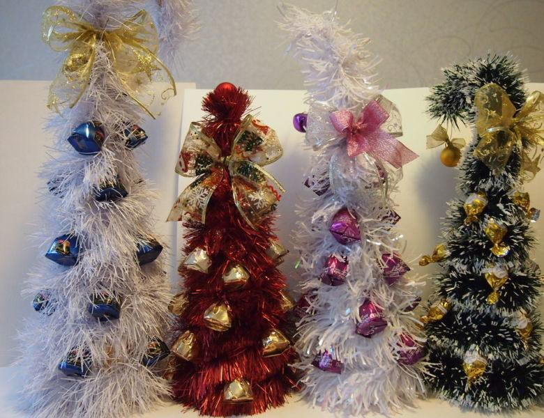 Жаңа жылдық шыршасы бар жаңа ағаш & # 8212; Фото идеялар және шеберлік сабақтары 56-кезең