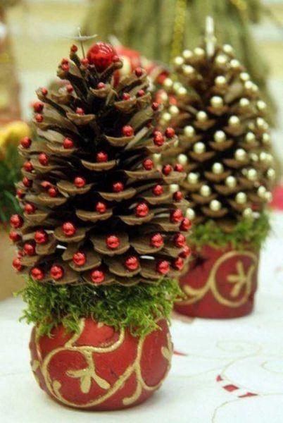 DIY juletræ til nytår & # 8212; fotoideer og mesterklasser trin 51