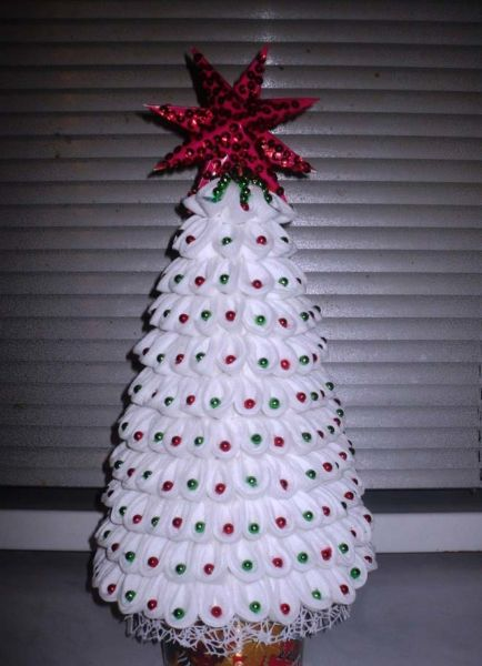 DIY Christmas tree for New Year & # 8212; photo ideas and master classes stage 122