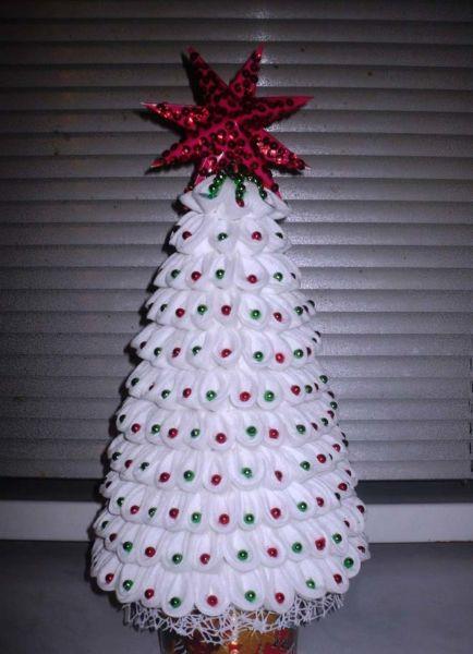 ต้นคริสต์มาส DIY สำหรับปีใหม่ & # 8212; ไอเดียภาพถ่ายและมาสเตอร์คลาส 122