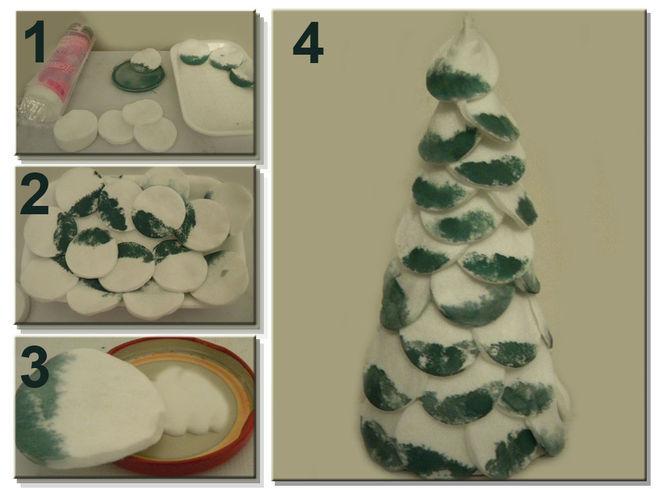 Χριστουγεννιάτικο δέντρο με τα χέρια σας για το Νέο Έτος & # 8212; Ιδέες φωτογραφιών και Master Classes Στάδιο 123