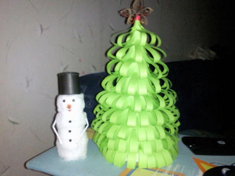 DIY juletræ til nytår & # 8212; fotoideer og mesterklasser, fase 136