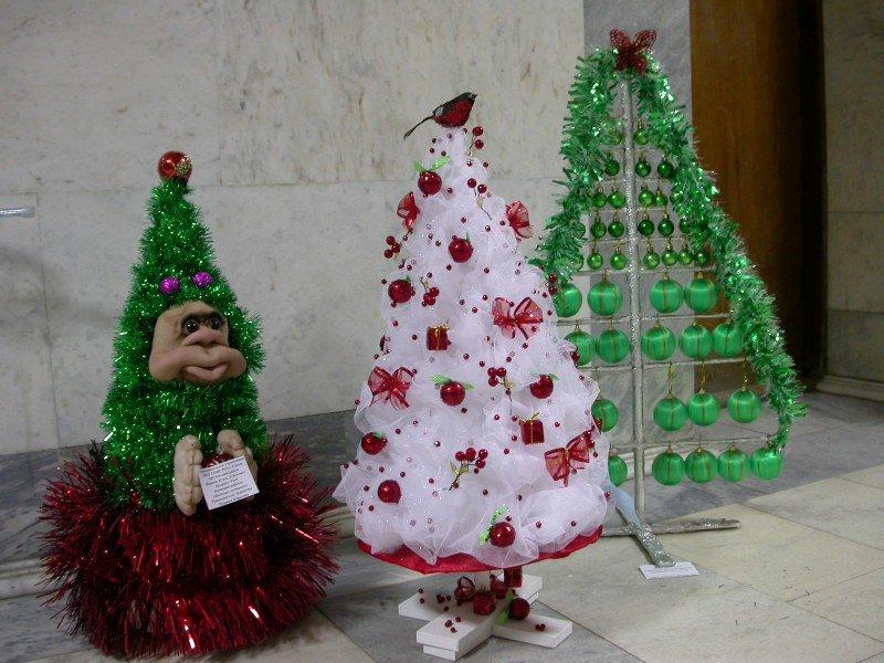 Árvore de Natal com as mãos para o ano novo e # 8212; Idéias de fotografias e mestres estágio 139