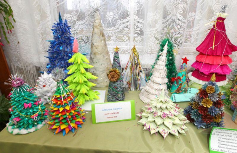 Жаңа жылдық шыршасы бар жаңа ағаш & # 8212; Фото идеялар және шеберлік сабақтары 144 кезең