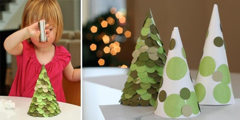 DIY juletræ til nytår & # 8212; fotoideer og mesterklasser trin 20
