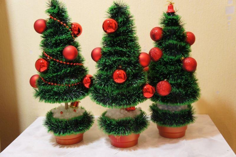 Árvore de Natal com as mãos para o ano novo e # 8212; Idéias fotográficas e mestres estágio 7
