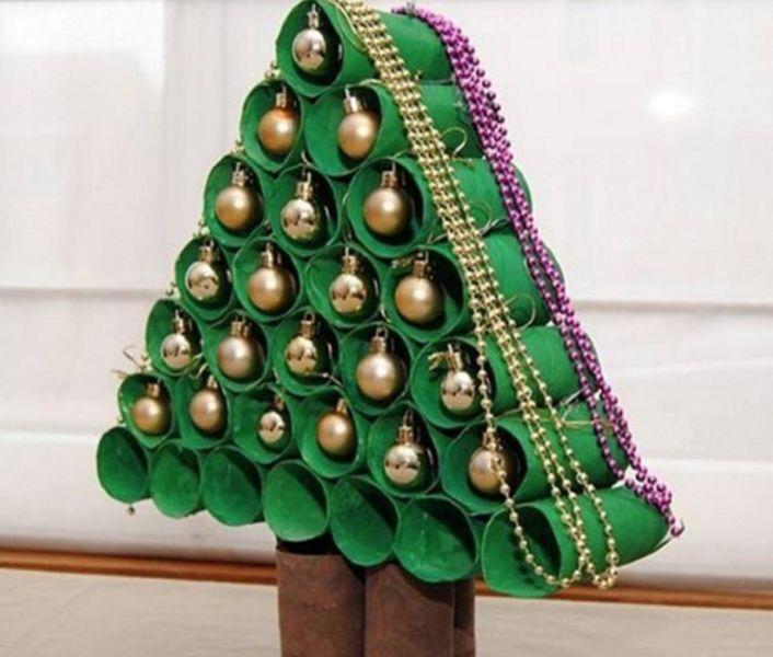 Жаңа жылдық шыршасы бар жаңа ағаш & # 8212; 22-кезең фото идеялары мен шеберлік сабақтары