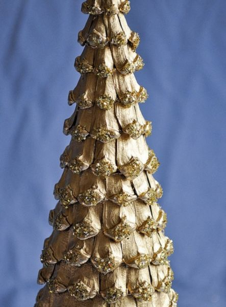 DIY juletræ til nytår & # 8212; fotoideer og mesterklasser trin 48