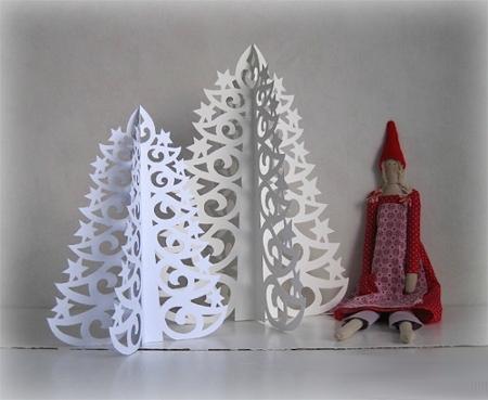 DIY juletræ til nytår & # 8212; fotoideer og mesterklasser trin 87