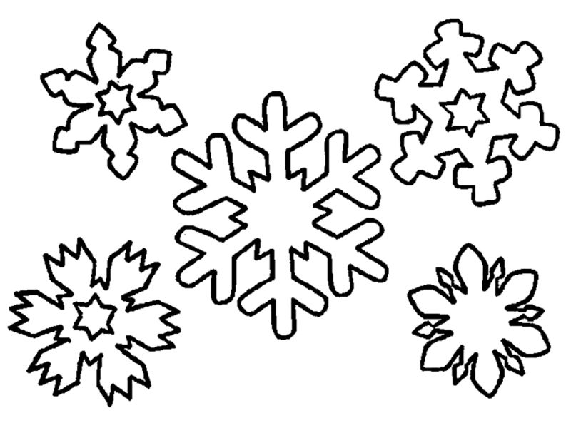 Картинки на окна снежинки маленькие